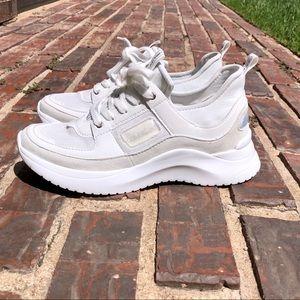 NWOT Calvin Klein Ultra Neoprene All White Sneaker